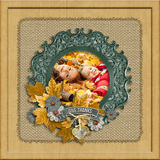 Thanksgiving Workshop - Burlap Mattes
