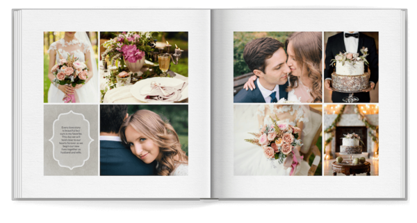 Family Monogram Photo Book