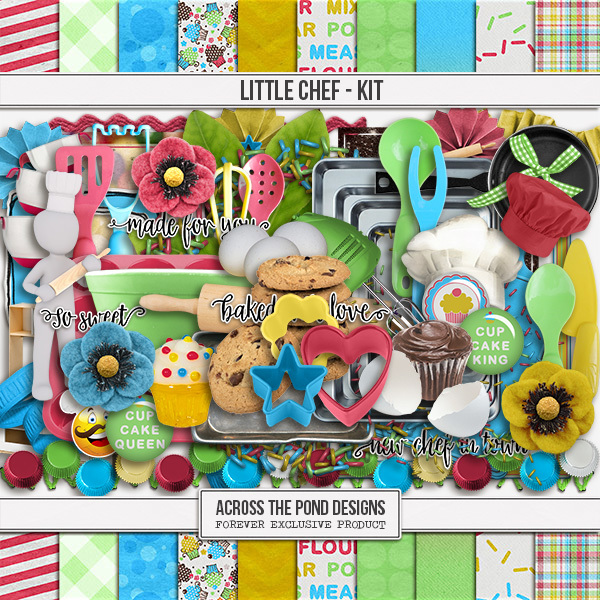 Little Chef - Page Kit