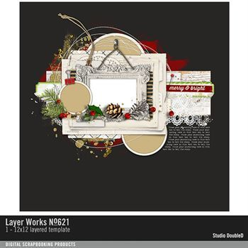 Layer Works No. 621 Layered Template