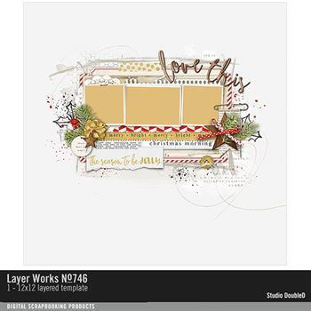 Layer Works No. 746 Layered Template