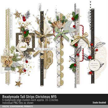 Readymade Tall Strips Christmas No. 05
