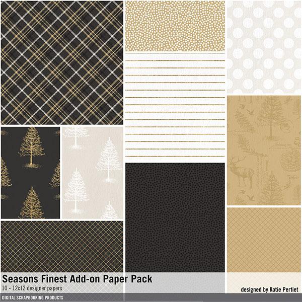 Seasons Finest Add-on Paper Pack