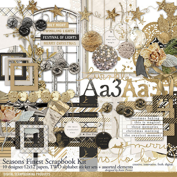 Seasons Finest Scrapbook Kit