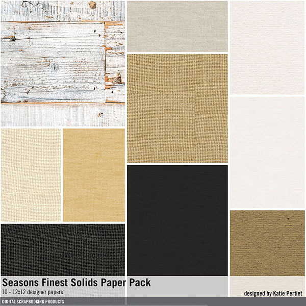 Seasons Finest Solids Paper Pack