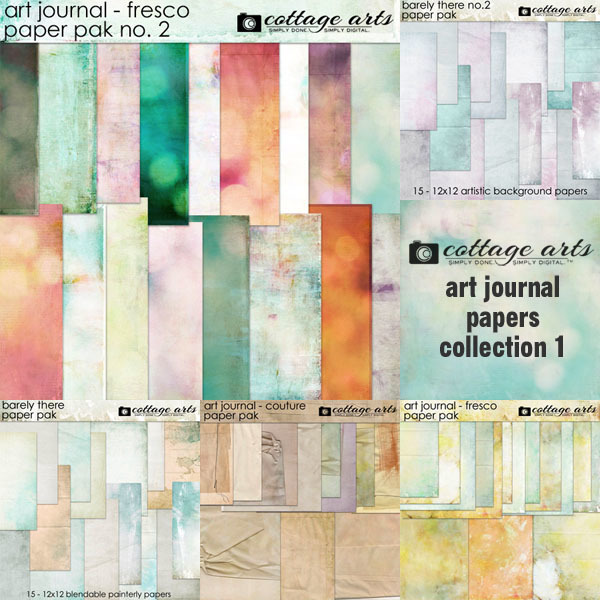 Art Journal Papers Collection 1
