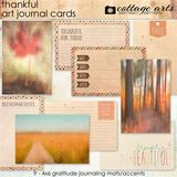 Thankful Art Journal Cards