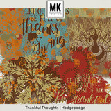 Thankful Thoughts - Hodgepodge