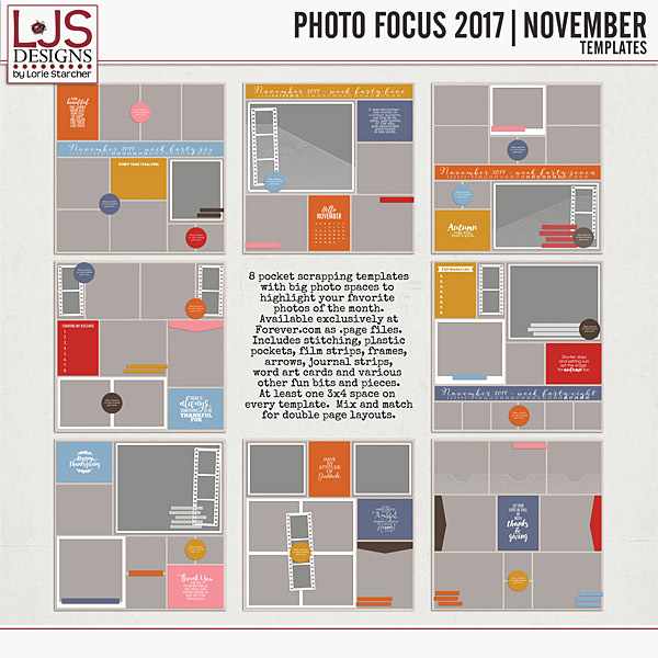 Photo Focus 2017 - November Templates