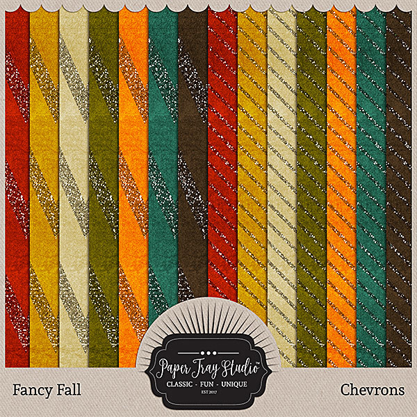 Fancy Fall - Chevrons
