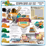 Scrappin Safari July 2017