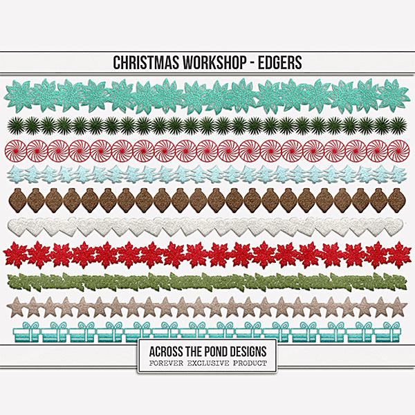 Christmas Workshop - Edgers Digital Art - Digital Scrapbooking Kits