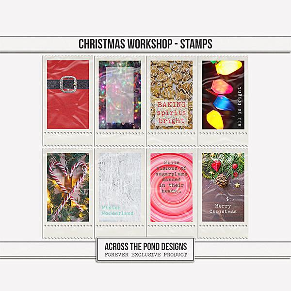 Christmas Workshop - Stamps