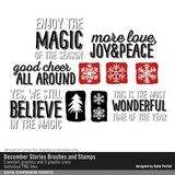 December Stories Brushes And Stamps