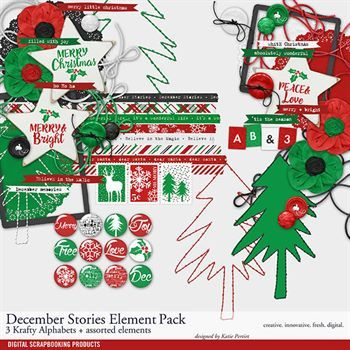 December Stories Element Pack