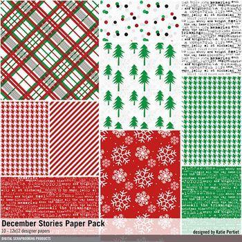 December Stories Paper Pack