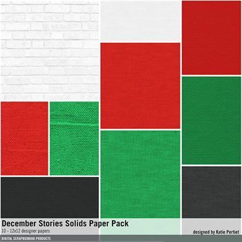December Stories Solids Paper Pack