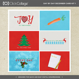 Day By Day December Card Kit 1