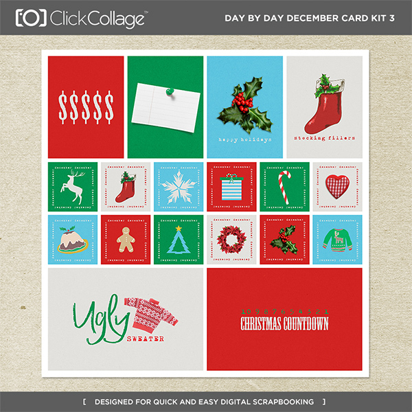 Day By Day December Card Kit 3