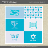 Happy Hanukkah Card Kit 1