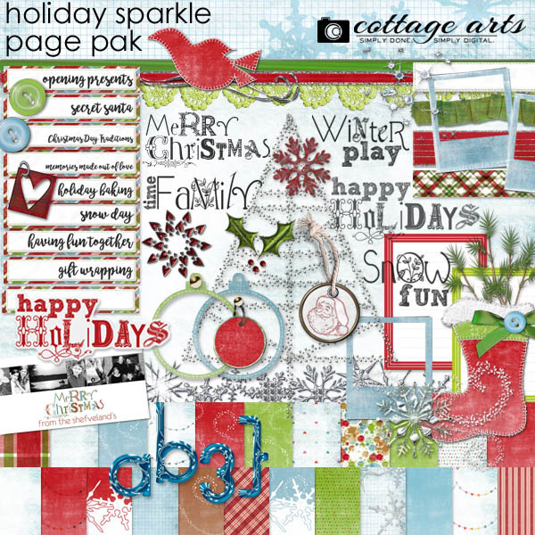 Holiday Sparkle Page Pak