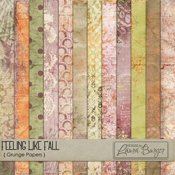 Feeling Like Fall Grunge Papers