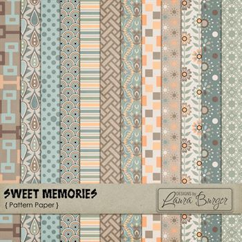 Sweet Memories Pattern Papers