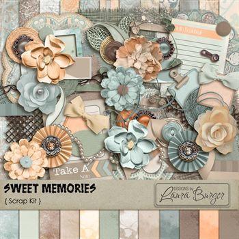 Sweet Memories Scrap Kit