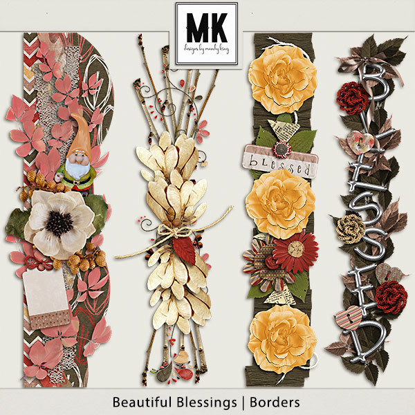 Beautiful Blessings - Borders
