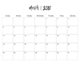 2018 Bring Me Calendar 11x8.5