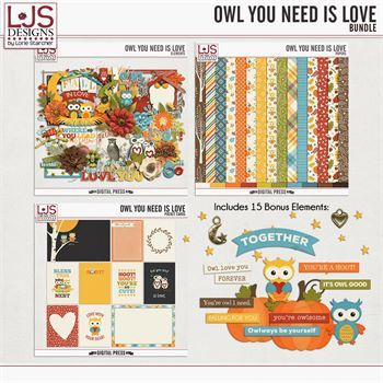 Owl You Need Is Love - Bundle