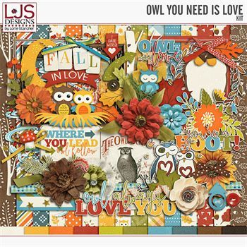 Owl You Need Is Love - Kit