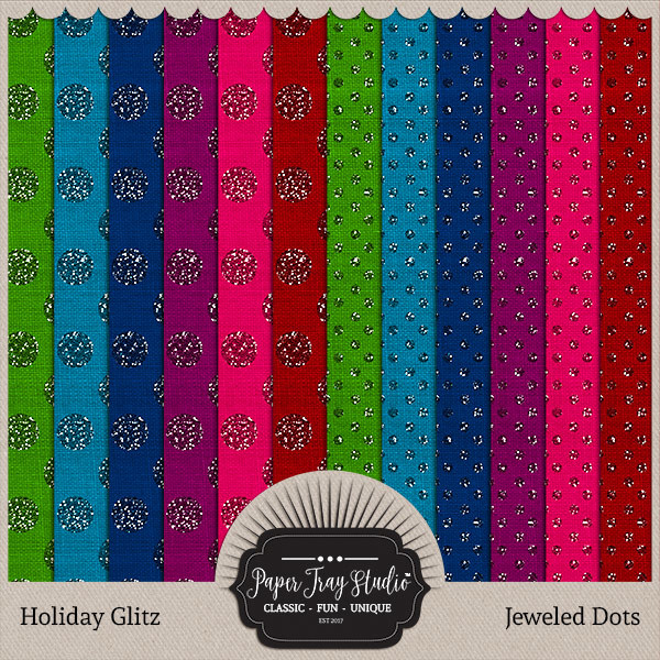 Holiday Glitz - Jewel Dots