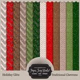 Holiday Glitz - Traditional Chevrons