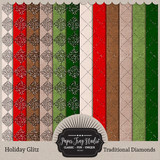 Holiday Glitz - Traditional Diamonds