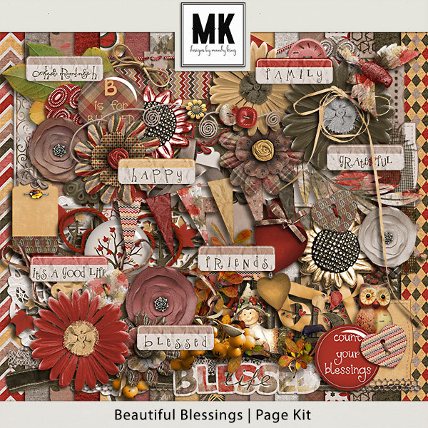 Beautiful Blessings - Page Kit