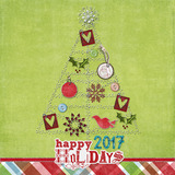 Holiday Sparkle Solids Paper Pak