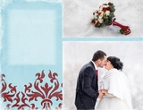 Wedding Elegant Winter 11x8.5 Predesigned Pages