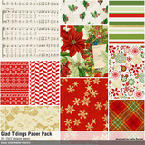 Glad Tidings Christmas Scrapbook Collection