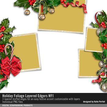 Holiday Foliage Layered Edgers No. 01