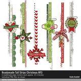 Readymade Tall Strips Christmas No. 03