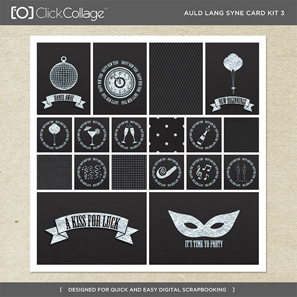 Auld Lang Syne Card Kit 3