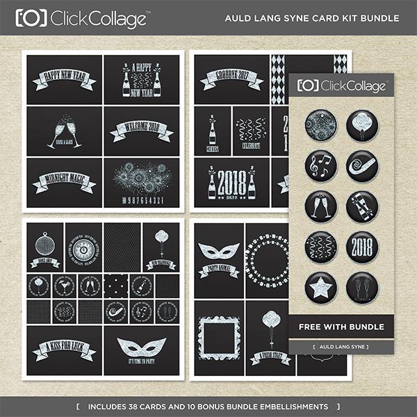 Auld Lang Syne Card Kit Bundle