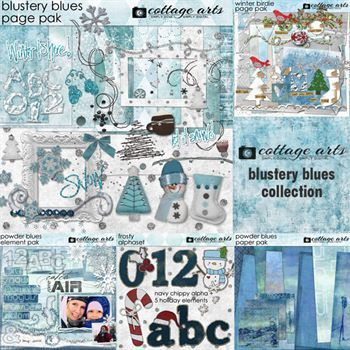 Blustery Blues Collection