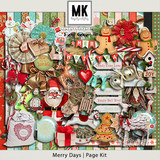 Merry Days - Page Kit