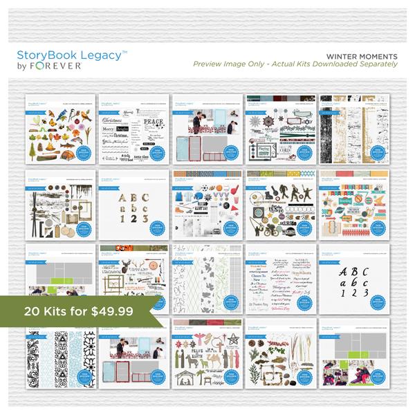 Winter Moments StoryBook Legacy™ Bundle