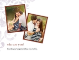 Ten Questions Love Story 11x8.5 Predesigned Pages
