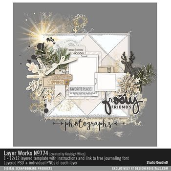 Layer Works No. 774 Layered Template