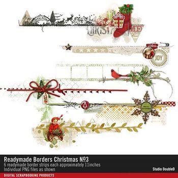 Readymade Borders Christmas No. 03