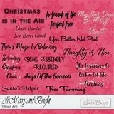 All Merry And Bright Word Arts